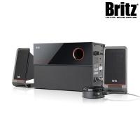 브리츠 프리미엄 2.1채널 스피커 BR-2500M2 (서브우퍼포함 / 유선리모콘 / PC음원입력)