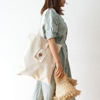 Strap pocket Shoulder bag  (에코백)