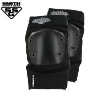 [SMITH] SCABS CROWN ELBOW PADS (Black/Black)