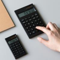 단순생활 데스크 계산기 블랙