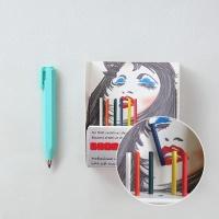 [스크래치 상품] 우더 쇼티 클러치펜슬 소프트그립(리필6입) 3.15mm