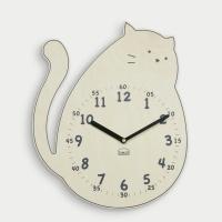 [베짓] 사랑스러운 고양이 무소음 벽시계
