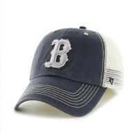 MLB모자 보스톤 레드삭스 네이비메쉬 그레이빈티지
