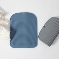실리콘 휴대용 미끄럼방지 손빨래판