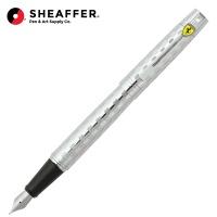 쉐퍼 페라리 SF300 체크 크롬 만년필 F9517