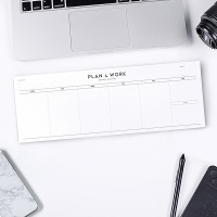 PLAN & WORK weekly planner