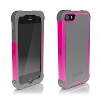 [충격완벽보호 볼리스틱 케이스] BALLISTIC SG iPHONE 5 (Charcoal/Raspbeey Pink) [완벽하게 스마트폰 보호 소재]