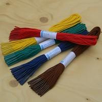 [KOKUYO] 철끈 색상으로 구분하기...일본 고쿠요 Color 철끈-5색 각20개입 HA341-6