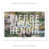 [2019 명화 캘린더] Pierre Auguste Renoir 르누아르 Type A