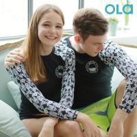 [OLA]올라 커플 세트 래쉬가드 인디고 OTC005 수영복/서핑