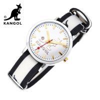 [KANGOL] 캉골시계 나토밴드시계 KG11232_2 BWB LOGO