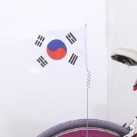 태극기자전거깃발