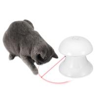 펫디아 버섯 레이저 자동 고양이 장난감