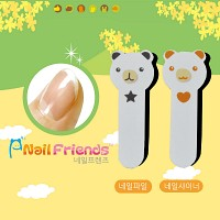 네일파일 and 샤이너 (Bear and Cat Friends-bear1)
