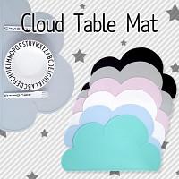 당일발송 BPA FREE  실리콘 구름매트 식탁매트