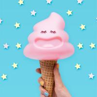 아이스크림 LED 스탠드 (USB충전어댑터포함)