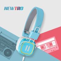 레트로감성 디자인 스마트폰 리모트 헤드폰 Newtro