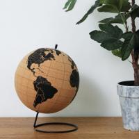 25cm 코르크 지구본