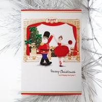 크리스마스카드/성탄절/트리/산타 크리스마스 왈츠 FS207-6