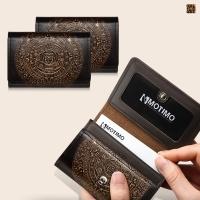 [여성카드.명함지갑]보노(마야)천연가죽 카드지갑