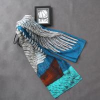 [더로라]울타입 스카프- 블루 천사 S8207