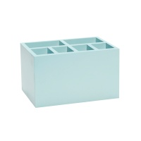 [hubsch]Box w/8 compartments blue 연필꽂이885029