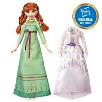 겨울왕국2 패션돌 안나와 드레스 세트 디즈니공주