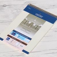 옥스포드 A4 80매 절취 섹션 MAP 스프링노트 ASN99217