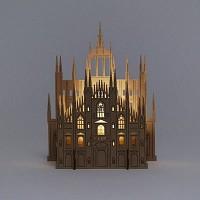 [퍼니피쉬] 크래프트라이츠 - 밀라노 대성당 - LED/Candle