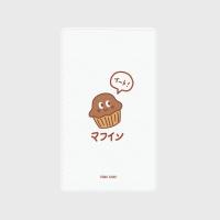 [어프어프] 보조배터리 Muffins-white
