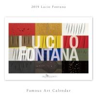 [2019 명화 캘린더] Lucio Fontana 루치오 폰타나 Type A