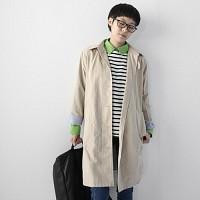 봄날크로와상 코트