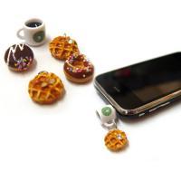 핸드메이드 미니어처 이어폰캡(스마트폰/스마트패드)