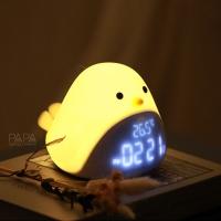 침대간접조명 LED 버드클락 시계겸용 무드등