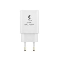 25W 초고속 핸드폰 충전기 & 케이블 (White) LCSR2419