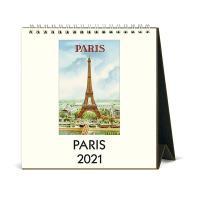 2021년 데스크캘린더 Paris