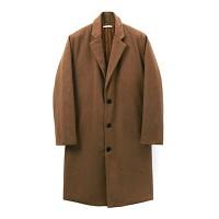 Oversize Wool Padding Coat_Camel