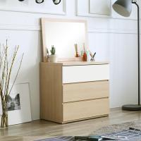 [보루네오 하우스] 아르메 콤비 와이드 3단 서랍장+거울