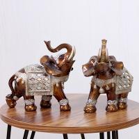 (kcrz075)엔틱 하트 코끼리 2P set