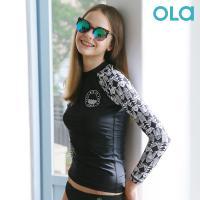 [OLA]올라 여성 래쉬가드 인디고 OTW005 수영복/서핑