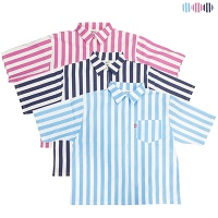 Ice Lolly 1/2 Striped shirt(3color)여성용