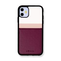 스매스 아이폰11 보호 카드케이스 씨원 리버스_퍼플레드