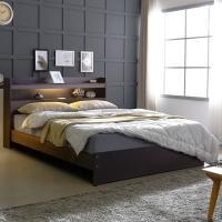 [보루네오 하우스] 아르메 엘피노 LED 일반형 침대 Q_매트별도