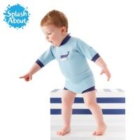 [스플래시어바웃] 해피내피웨트슈트 (빈티지모비). 수영기저귀 일체형 아기수영복