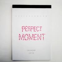 2018 Moment wall calendar