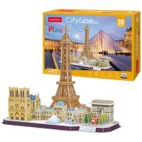 [3D퍼즐마을][MC254h] 시티라인-파리 (City Line Paris)