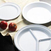 포시리빙 법랑 원형 접시 시리즈