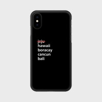 JSV 리브포아일랜드 폰케이스 블랙 아이폰11/갤럭시