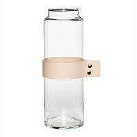 [Hubsch]Vase w leather ribbon 화병379003