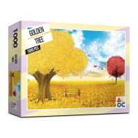(알록퍼즐)1000피스 황금 돈나무 직소퍼즐 AL3012